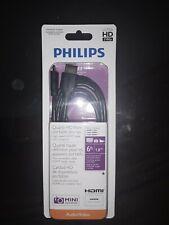 Philips SWV2472H/27 6-Feet Mini-Pin HDMI Cable NIB