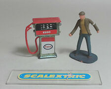 VINTAGE RED ESSO PETROL PUMP for Scalextric Airfix Ninco SCX Fly & More! 1.32