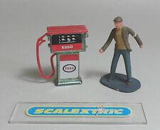 Vintage red Esso Bomba de gasolina para Scalextric Airfix Ninco SCX FLY y más! 1.32