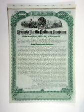 Georgia Pacific Railway Co., 1882 $1,000 I/U 6% Gold Coupon Bond, XF ABNC