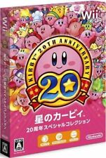 Nintendo Wii Kirby's dreamland 20th Anniversary Special Collection japan new