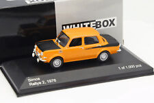 SIMCA 1000 RALLYE 2 1976 - 1/43 WHITEBOX NEUF
