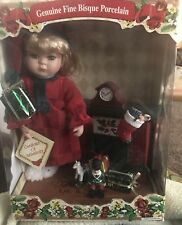 Collector's Choice Limited Edition Genuine Fine Bisque Porcelain Doll New In Box