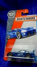 Matchbox Dodge Viper GTS-R Cracked Blister Blue Die-Cast Metal 1:64 Scale Mattel
