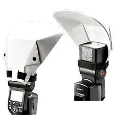 Universal Flash Bounce Reflector Diffuser For Canon Nikon Pentax Sony
