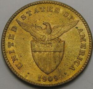 PHILIPPINES 1 Centavo 1909 - Bronze - VF - 1193 ¤