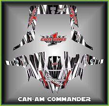 Can-am Commander 800 1000 Canam Can am  SEMI CUSTOM GRAPHICS KIT Streek2