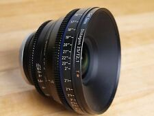 Zeiss CP.2 T* 25 mm T/2.1 Lens Canon EF or PL Mount