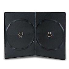 10 x DOUBLE NERO 7mm DORSO DVD / CD / BLU RAY caso da DRAGON Trading ®