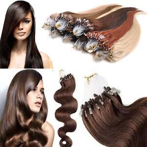 1g 7A Micro LOOP Elegant Fashionable Easy Remy Human Hair Extensions Elegant