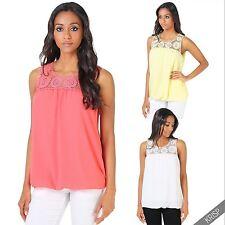 Hüftlang Damenblusen,-Tops & -Shirts mit Rundhals und Polyester für Freizeit