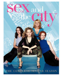 Sex and the City The Complete Second Season DVD Authentic New Factory Sealed