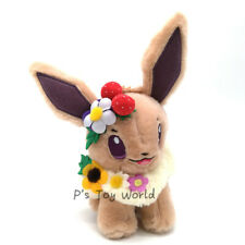 "Easter Garden Party Eevee 7"" Poke Plush Doll Figure Toy"