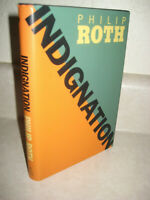 Indignation Philip Roth Novel 1st Edition First Printing Fiction