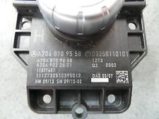 MERCEDES C CLASS RADIO/CD/DVD/SAT/TV SCREEN CONTROL UNIT, W204, 05/11- 11 12 13