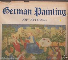 Alemán Pintura XIV - XVI Centuries Alfred Stange Hyperion Grande Tapa Dura