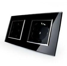 Duschkabine mit Duschtasse Duschabtrennung Duschwanne Glasdusche 8mm eckig 8900