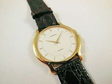 Lassale by Seiko Gold Tone Metal White Dial 5A54-0380 Sample Watch NON-WORKING