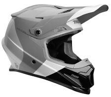 Thor MX Motocross Sector MIPS Helmet (BOMBER Gloss Charcoal/White) M (Medium)