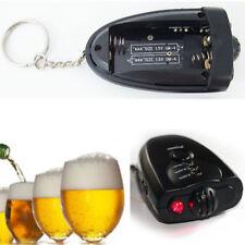 Digital Alcohol Breath Tester Breathalyzer Analyzer Detector Tester Keychain New