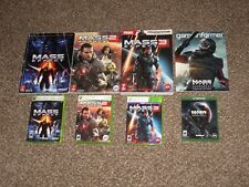 Mass Effect 1 2 3 Trilogy + Andromeda Bundle Xbox One 360 w/ Strategy Guide Lot