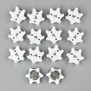14Pcs Golf shoes soft Spikes Pins 1/4 Turn Fast Twist Shoe Spikes Replacement ZH
