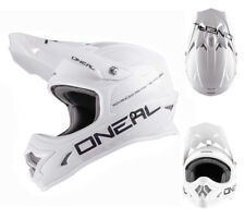 Oneal 3series CASCO CROSS BLANCO MATE Mx Enduro Casco Talla L