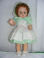 "Vintage Madame Alexander Doll 1958 Kathleen Flirty Eyes 23"" Red Hair"