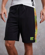 New Mens Superdry Training Relaxed Mes Black