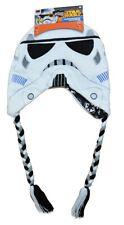 STAR WARS STORMTROOPER Premium Knit Peruvian Winter Hat Beanie w/ Braids NWT $20