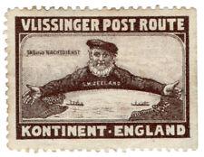 (I.B) Netherlands Cinderella : Zeeland Post Route (Vlissinger)