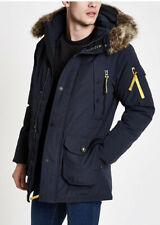 Superdry premium parka down jacket