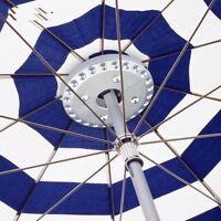 Garden Light Yard Umbrella Pole Bright Camping Tent Lamp Cordless Outdoor Night