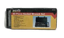 40PC Socket Conjunto de herramientas de mano CARRACA BARRA ADAPTADOR Spin disco Hágalo usted mismo llevar