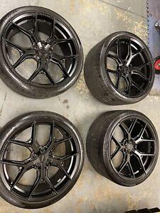 """Vossen Alloy Wheels 22"""" Porsche Taycan"""