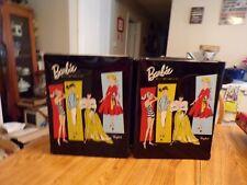 Vtg Original Barbie & Ken 1961 With Case Full of Accessories