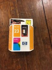 HP 23 PRINT CARTRIDGE NEW IN BOX NEW OLD STOCK- WOW TAKE A LOOK  MUST SEE P-10