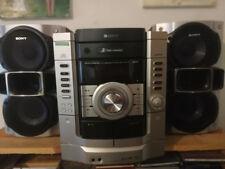 STEREO SONY ORGINALE 2casse e subwoofer. 3cd e 2 cassette
