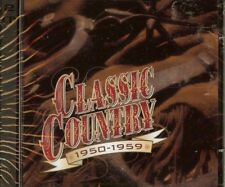 CLASSIC COUNTRY - 1950-1959 - Various Artists - 2 CD SET -  (Time/Life) - NEW