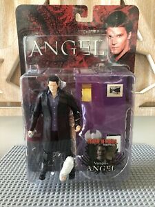 """Buffy Angel VAMPIRE ANGEL Tower Records Exclusive Action Figure MOC 6"""" Connor"""