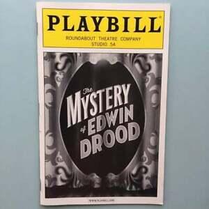 Closing Cast New Playbill The Mystery of Edwin Drood Andrew Samonsky  Erin Davie