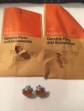 Harley Davidson Aermacchi Turn Signal Indicator Lense 71085-73P Oem Nos AMF (2)