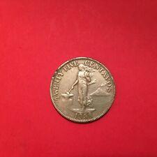 PHILIPPINES  25  CENTAVOS  1958  KM # 189.1  VF.