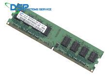 2GB  DDR2-667 MHz RAM PC2-5300U-555-12-E3 CL5 2Rx8 DIMM M378T5663DZ3-CE6
