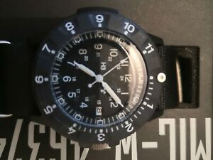 Traser H3 Professional P6500 modell: MIL-W-46374F Armbanduhr Illumination