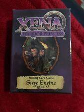 Xena Warrior Princess Siege Engine Starter Deck TCG Trading Card Game 1998 NEW