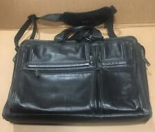 TUMI Leather Briefcase Bag