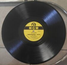 """KATE SMITH Anniversary Song/If I Had My Life To Live Over 10"""" 78RPM, MGM 10003"""