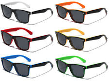 Polarized Two Tone Rivet Design Men's Women's Retro Fashion Square Sunglasses