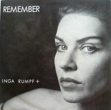 "7"" 1985 IN MINT- ! INGA RUMPF : Thank You + Remember"
